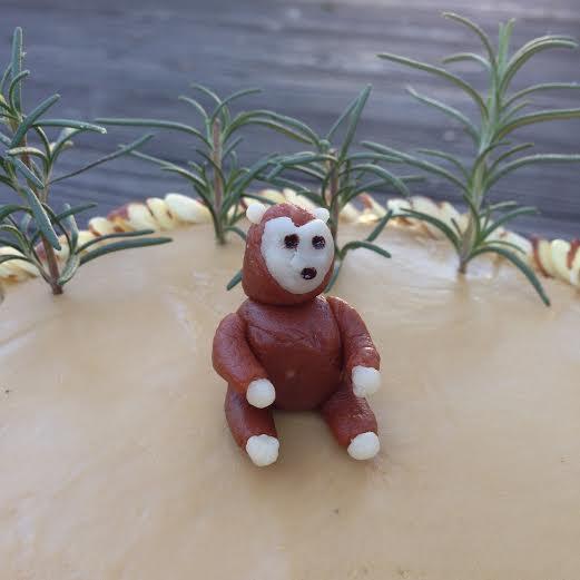 marzipan monkey cake +nicaragua