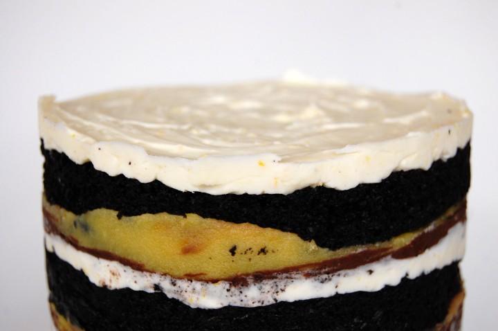 dark chocolate clementinecake