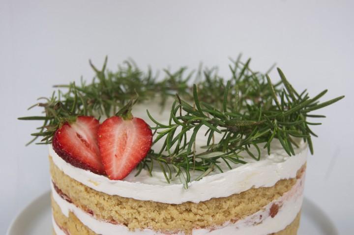 rosemary victorian spongecake