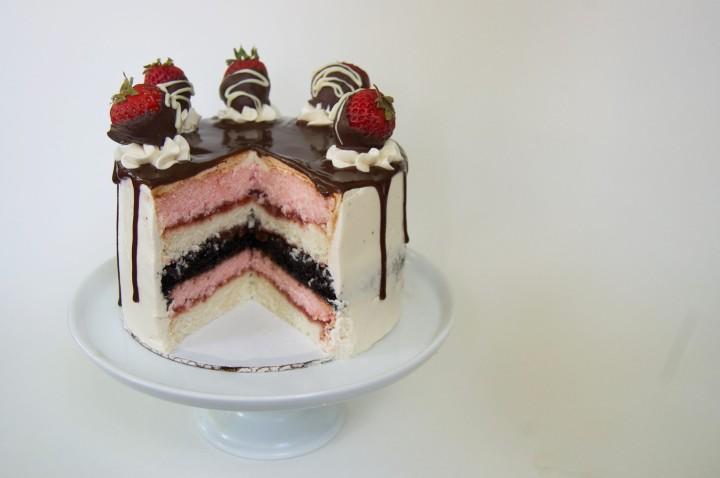 neopolitan cake
