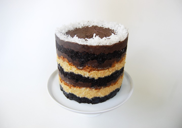 german chocolate jimbo cake